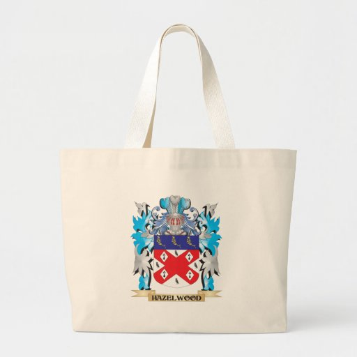 Hazelwood Coat of Arms - Family Crest Tote Bags