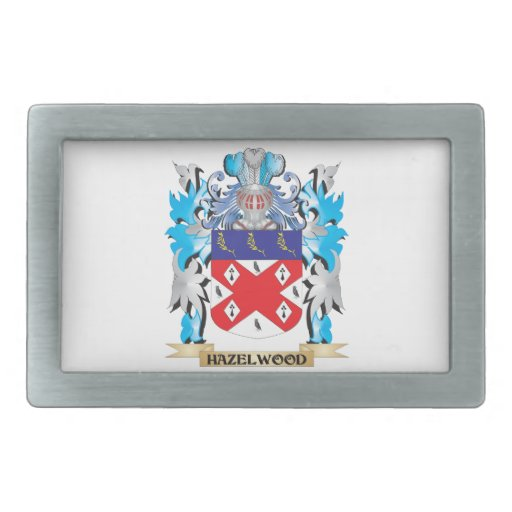Hazelwood Coat of Arms - Family Crest Belt Buckle