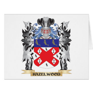 Hazelwood Coat of Arms - Family Crest Big Greeting Card