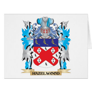 Hazelwood Coat of Arms - Family Crest Cards