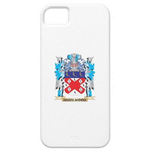 Hazelwood Coat of Arms - Family Crest iPhone 5 Cases
