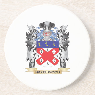 Hazelwood Coat of Arms - Family Crest Coasters