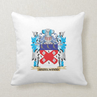 Hazelwood Coat of Arms - Family Crest Throw Pillow