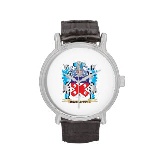 Hazelwood Coat of Arms - Family Crest Wrist Watch