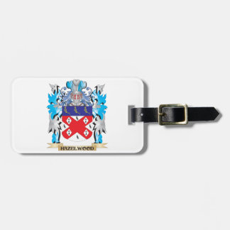 Hazelwood Coat of Arms - Family Crest Tags For Bags