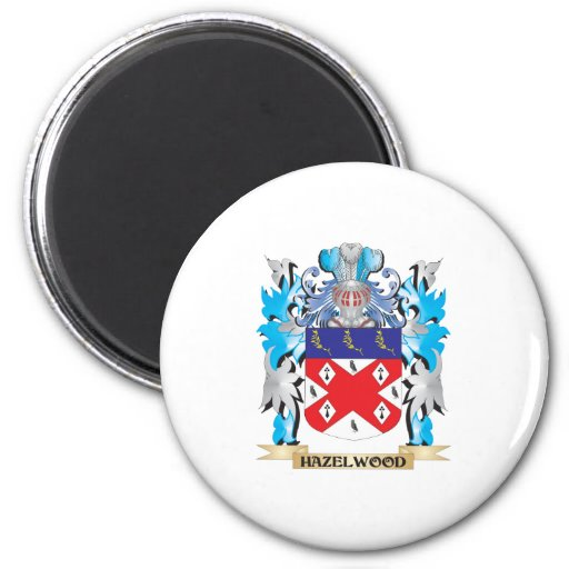 Hazelwood Coat of Arms - Family Crest Refrigerator Magnet