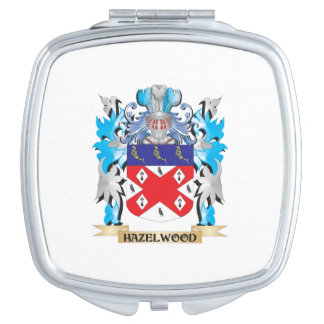 Hazelwood Coat of Arms - Family Crest Mirror For Makeup