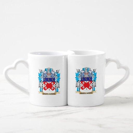 Hazelwood Coat of Arms - Family Crest Couples Mug