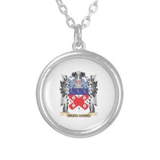 Hazelwood Coat of Arms - Family Crest Round Pendant Necklace