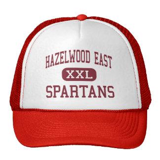 Hazelwood East - Spartans - High - Florissant Hats