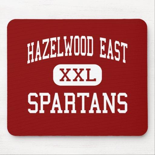 Hazelwood East - Spartans - High - Florissant Mouse Pads
