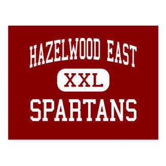 Hazelwood East - Spartans - High - Florissant Postcard
