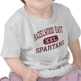 Hazelwood East - Spartans - High - Florissant Tshirt