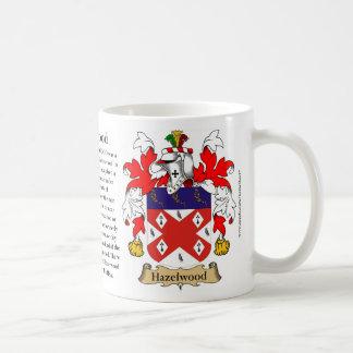 Hazelwood Family Coat of Arms Basic White Mug