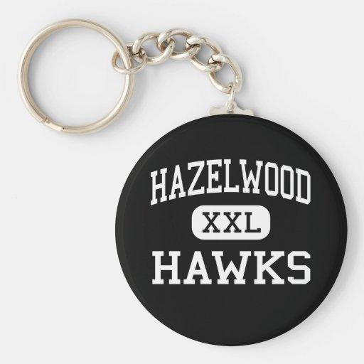 Hazelwood - Hawks - Junior - Florissant Missouri Keychain