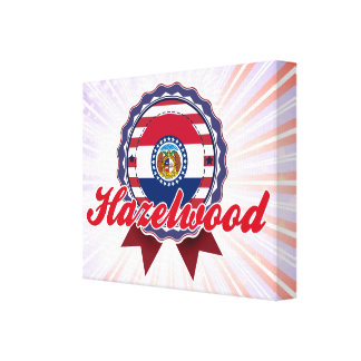 Hazelwood, MO Stretched Canvas Prints
