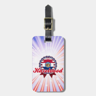 Hazelwood MO Travel Bag Tag