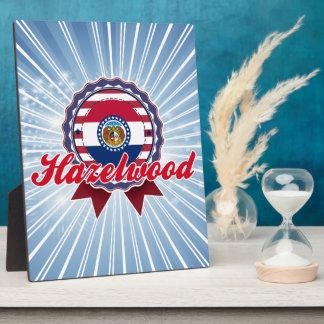 Hazelwood, MO Plaque