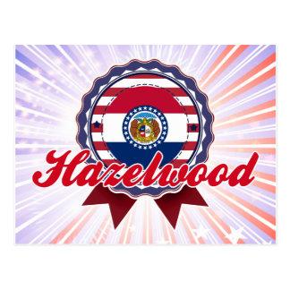Hazelwood MO Postcard