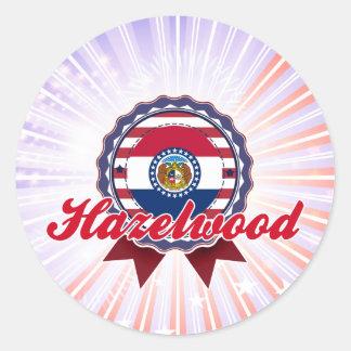 Hazelwood, MO Sticker