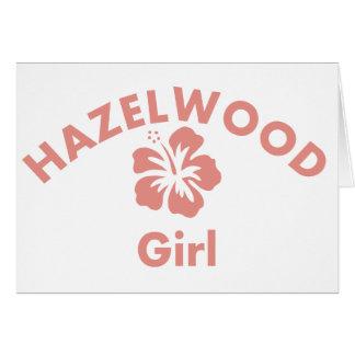 Hazelwood Pink Girl Cards