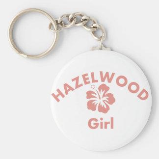 Hazelwood Pink Girl Keychains