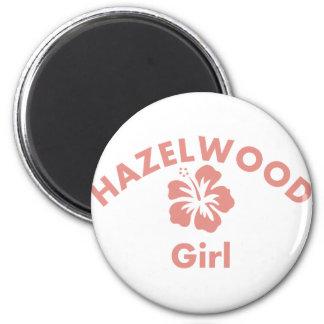 Hazelwood Pink Girl Fridge Magnets