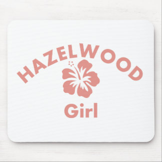 Hazelwood Pink Girl Mouse Pad