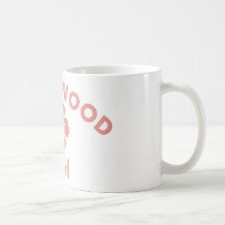 Hazelwood Pink Girl Coffee Mugs
