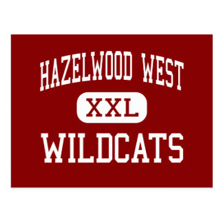 Hazelwood West - Wildcats - Junior - Hazelwood Postcard