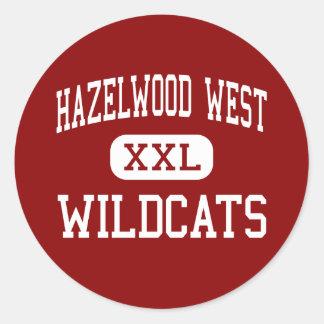 Hazelwood West - Wildcats - Junior - Hazelwood Sticker