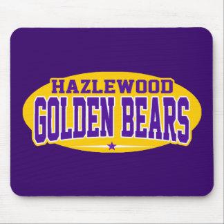 Hazlewood High School Golden Bears Mouse Pads