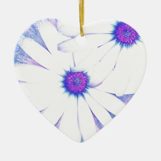 hazy daisy christmas ornament