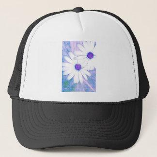 hazy daisy trucker hat