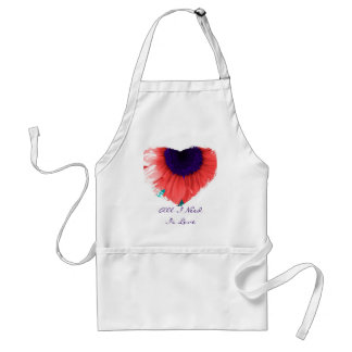 Hazy Heart Love Apron
