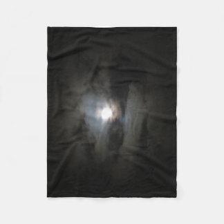 Hazy Moon Fleece Blanket