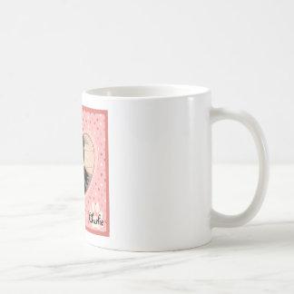 hc1.pngPink Polka Dot Crosshatch Heart Photo Frame Basic White Mug