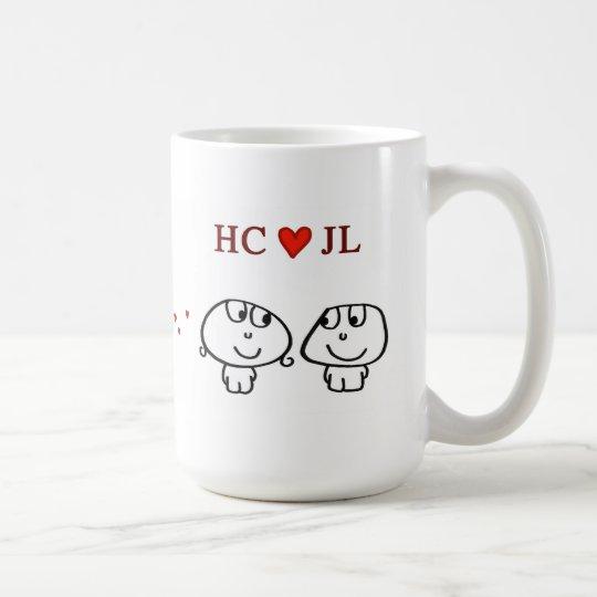 """HC heart JL"" Coffee Mug"