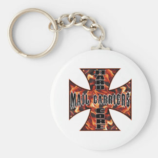 HC Mail Carriers Basic Round Button Key Ring