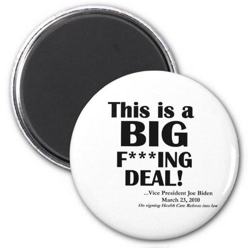 HCR: Big F***ing Deal 6 Cm Round Magnet