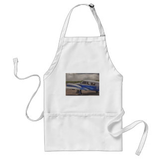 HDR Blue Plane Focal Point 2 in a Distance Adult Apron