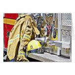 HDR Fireman Gear and Fire Truck
