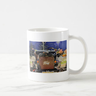 HDR Old Vintage Classic Hot Rod Coffee Mugs