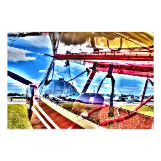 HDR Plane Photo Art