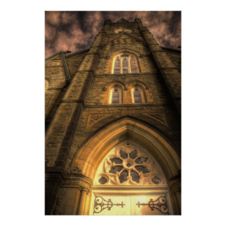 HDR - St Michael's Basilica Poster