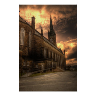 HDR - St Michael's Basilica Print