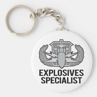 HDS Explosives Specialist Keychain