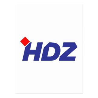 HDZ Hrvatska Demokratska Zajednica Postcards