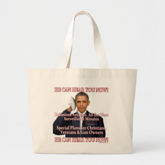 He Can Hear You Now! Canvas Bag