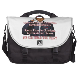 He Can Hear You Now! Commuter Bag